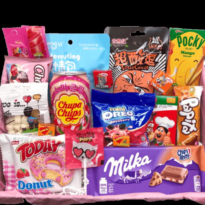 Подарочный бокс со сладостями купить