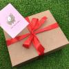 Подарочный набор со сладостями и 3 настольные игры